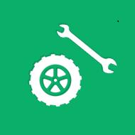 タイヤと工具